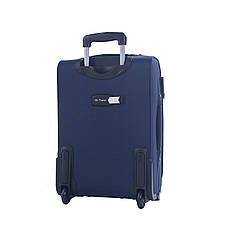 Чемодан мальй MY TRAVEL синий с расширением  ксА-190-20син, фото 3