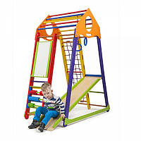 Детский спортивный комплекс BambinoWood Color Plus ( спортивний куточок )