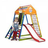 Детский спортивный комплекс KindWood Color Plus 3 ( спортивний куточок )