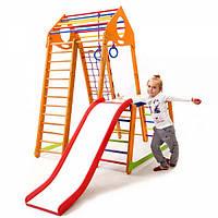 Детский спортивный комплекс BambinoWood Plus 1-1 ( спортивний куточок )