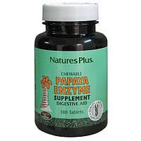 Ферменты Папаи, Natures Plus, 180 жевательных таблеток