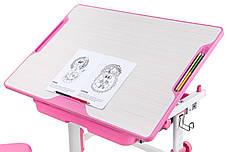 Растущая детская парта со стульчиком Cubby Lupin Pink, фото 3
