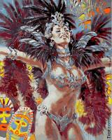 Картина по номерам Огни карнавала