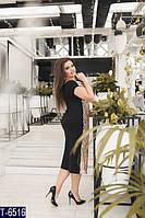 Вечернее платье T-6516 (48-50, 52-54, 56-58) — купить Вечерние платья XL+ оптом и в розницу в одессе 7км