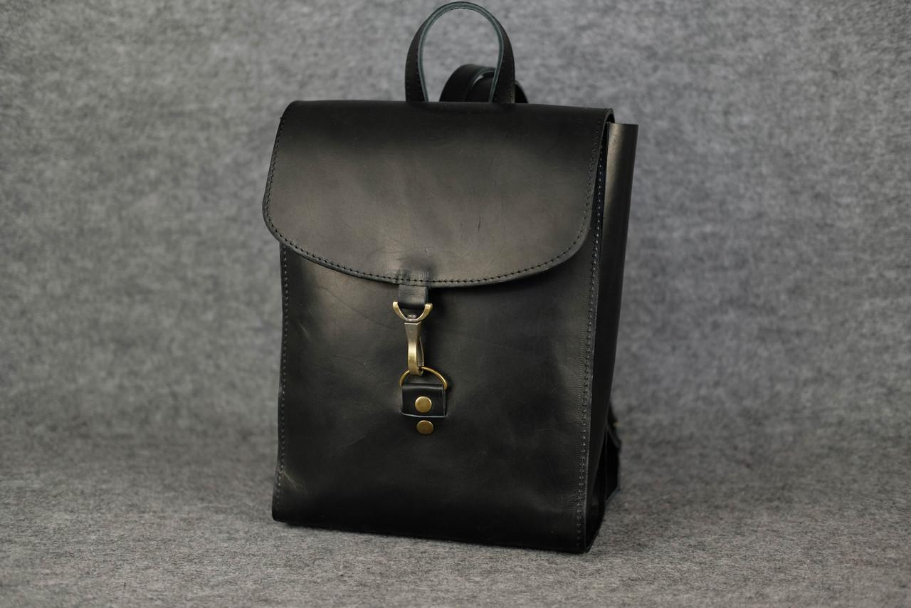Женский рюкзачок «Венеция» XL  11934  Италия  Черный