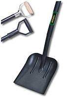 Лопата совковая усиленная с металлической ручкой Coval