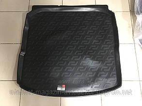 Коврик багажника для Audi A-3 седан 2013- г., резинопластиковый (Л.Локер)