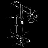 Душевая система Kludi Dual Shower System 6609505-00, фото 3