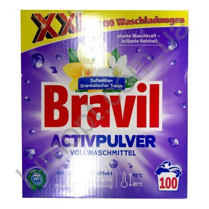 Cтиральный порошок Bravil ActivPulver 6,5кг (100стирок)