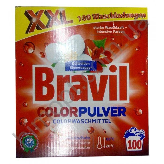 Cтиральный порошок Bravil ColoPulver 6,5кг (100стирок)