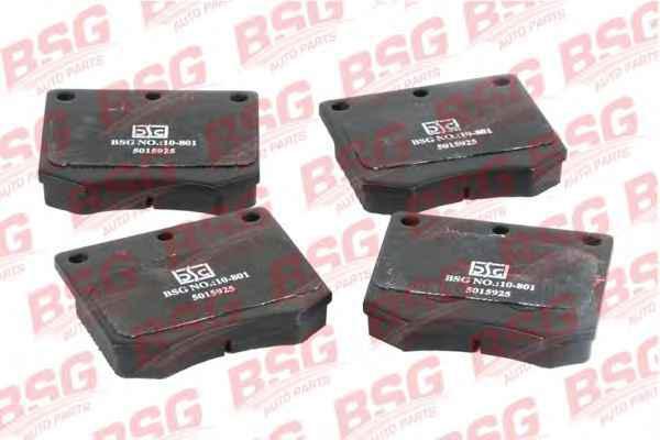 BSG 30-200-014 Колодки тормозные передние FORD TAUNUS