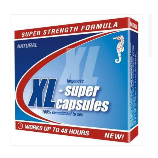 XL-СУПЕР КАПСУЛЫ № 2 - эффективный препарат для потенции