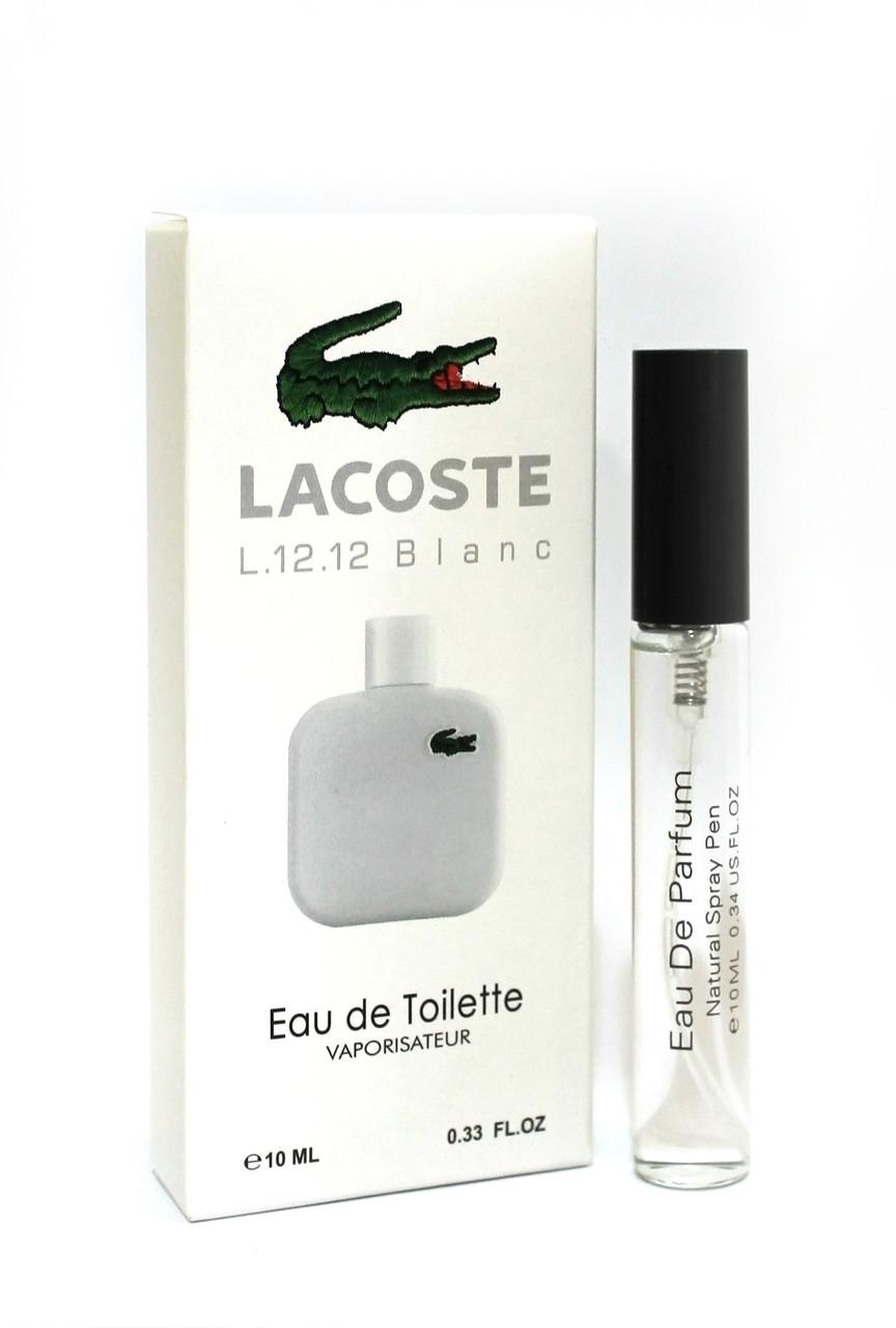 Мини-парфюм Lacoste Eau de Lacoste L.12.12 Blanc (10 мл)