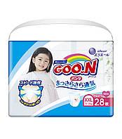 Трусики-подгузники GOO.N для девочек 13-25 кг (размер BigBig (XXL), 28 шт), фото 1