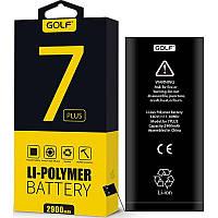 Аккумулятор для мобильного телефона GOLF iPhone 7 plus Battery 2900 mAh Black