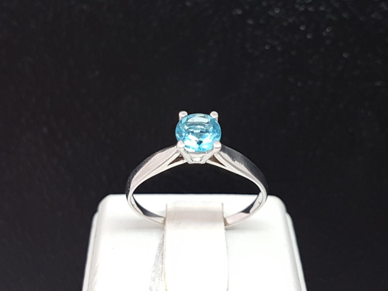Серебряное кольцо Эир с кварцем. Артикул 1832/9Р-QSWB 19