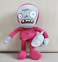 Зомби с дельфином Мягкая плюшевая игрушка Растения против зомби из игры Plants vs Zombies