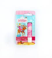 Детская гигиеническая помада с ароматом ванили и малины Prinzessin Lippen-pflege Himberen&Vanille , 4,8 g