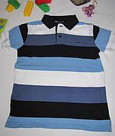 Футболка Wrangler оригинал рост 128 см синяя+белая 07115