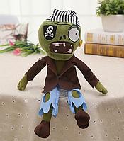 Зомби Мягкая плюшевая игрушка Растения против зомби из игры Plants vs Zombies, фото 1