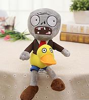 Зомби с утенком Мягкая плюшевая игрушка Растения против зомби из игры Plants vs Zombies