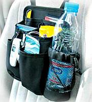 Органайзер-сумка, чехол для спинки переднего сидения.