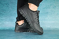 Кроссовки мужские реплика Nike черные 10590