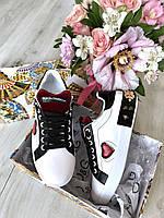 Креативные женские кеды DOLCE & GABBANA Portofino (реплика), фото 1
