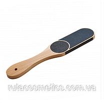 Терка для стоп деревянная Staleks (60/80/100/180)