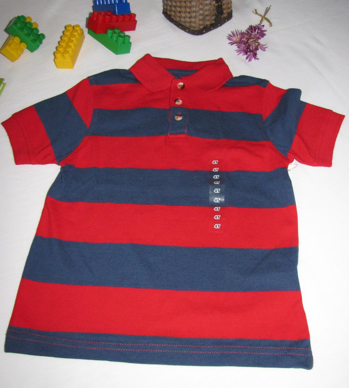 Футболка Arizona Jeans оригинал рост 104 см красная+темно синяя 07116