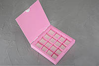 Коробка для конфет на 16шт.цвет в ассортименте - Галетте - 06397, фото 1