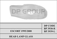 DP BP 3938 Стекло фары -R FORD ESCORT