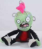 Зомби Панк Мягкая плюшевая игрушка Растения против зомби из игры Plants vs Zombies, фото 1