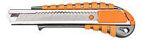 Нож с отламывающимся лезвием 18мм Neo Tools 63-011