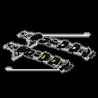 Набор шин для витягивания ноги на носилках НШН-01