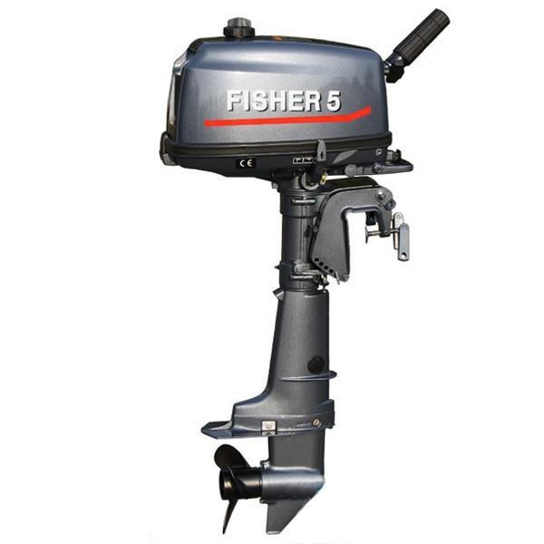 Лодочный мотор Fisher T5BMS фото 2