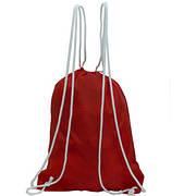 Рюкзак-котомка Wallaby для обуви и сменки 35х43х1 красный, материал нейлон  в 28252кр