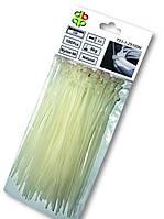 Хомут пластиковый белый TS 1-1-36-280 W
