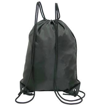 Рюкзак-котомка Wallaby для обуви и сменки 35х43х1 чёрный, ткань нейлон  в 28251ч, фото 2
