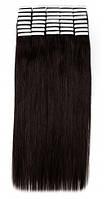 Волосы на лентах 50 см. Цвет #02 Горький шоколоад