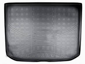 Коврик в багажник для Audi A-3 НВ 2013- г., полиуретановый Норпласт.