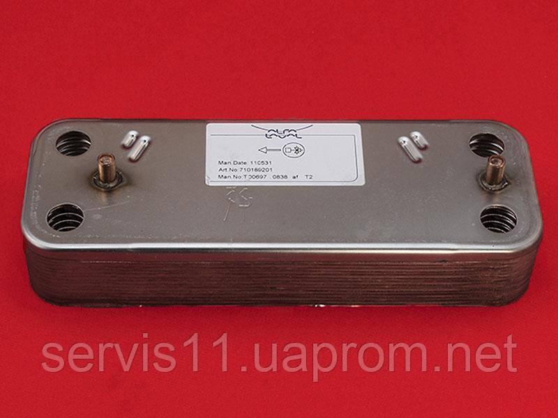 Теплообменник Baxi / Westen вторичный ГВС 14 пластин