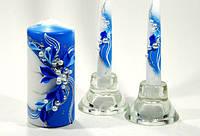 Набор свадебных свечей Bispol 3 шт (С-924)