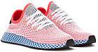 """Мужские кроссовки adidas Deerupt Runner """"Solar Bird"""" Red/Blue (в стиле Адидас) розовые, фото 5"""