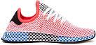 """Мужские кроссовки adidas Deerupt Runner """"Solar Bird"""" Red/Blue (в стиле Адидас) розовые, фото 6"""