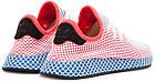 """Мужские кроссовки adidas Deerupt Runner """"Solar Bird"""" Red/Blue (в стиле Адидас) розовые, фото 7"""