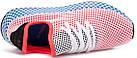 """Мужские кроссовки adidas Deerupt Runner """"Solar Bird"""" Red/Blue (в стиле Адидас) розовые, фото 8"""