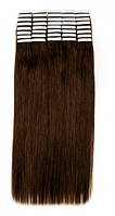 Волосы на лентах 50 см. Цвет #04 Каштановый, фото 1