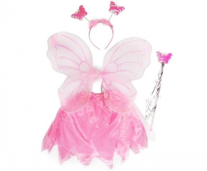 Маскарадный костюм Бабочка с юбкой 115751