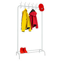 "Стойка для одежды ""Лофт 7 белый"" - 178х100х49 см, фото 1"